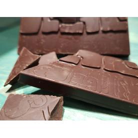 Čokoládová tabulka  tmavá 75%