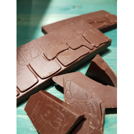 Čokoládová tabulka mléčná 60%